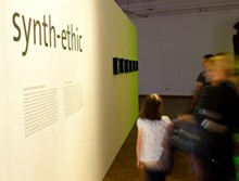 Bioart exhibition: synth-ethic