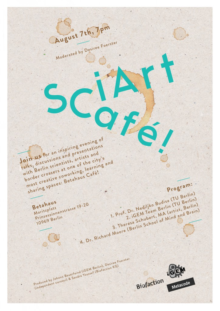 SciArt Cafe Flyer-B