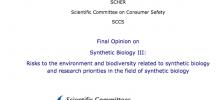 Read: Final Opinion on Synthetic Biology III