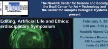 Gene Editing, Artificial Life and Ethics: An Interdisciplinary Symposium